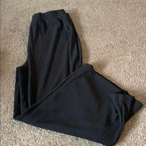 Short black dress pants